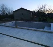 Terrasse sud sèche (J+18)