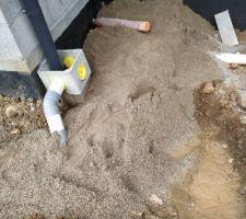Sablage des canalisations de la piscine