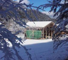 10 centimètres de neige le 18 janvier 2020