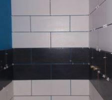 Salle de bain pour les amis
