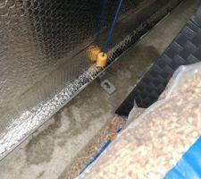 Fuite d'eau sous porte de garage