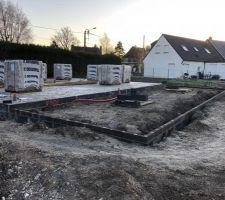 Préparation terrasse sur vide sanitaire