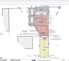 Plan toiture projet
