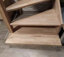 Réalisation d'un socle pour notre escalier