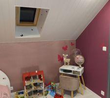 Aménagement de la chambre de notre fille
