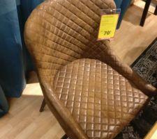 Nouvelle chaise chez JYSK