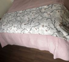 Jetée de lit maison :)