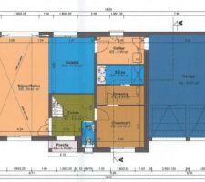 Plan constructeur RDC