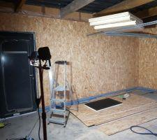 Isolation totale du garage