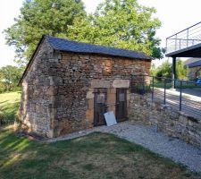 Terrasse acier / bois