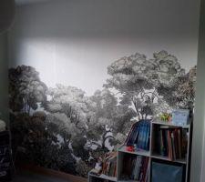 Chambre enfant... papier peint...