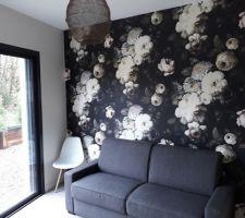 Family room... papier peint (intissé)