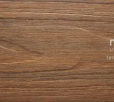 Détail lame Neowood Structurée couleur teck