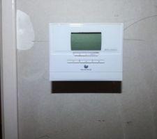 Thermostat pour le chauffage à l'étage