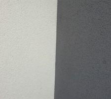 PRB blanc de Noirmoutier + gris Etretat - avant séchage