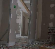 Câbles chauffants étage