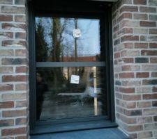 Fenêtre du cellier posée