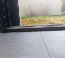 Encastrement baie vitrée