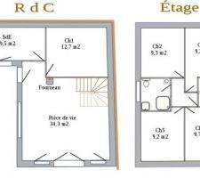 Plans RdC + Étage