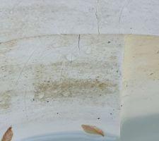Skimmer fissuré à cause de la dalle