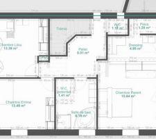 Plan étage idée 2