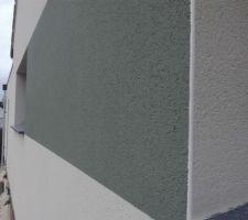 Enduits : blanc de noirmoutier + gris oxford