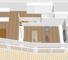 Modification vite-fait sweet home 3d etage