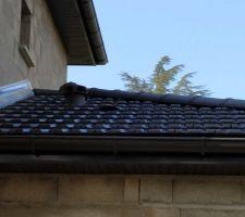 Aérations dans le toit
