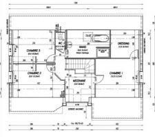 Plan maison 1 ère étage !!