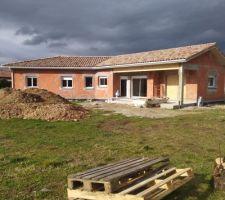 Notre maison charpente terminée