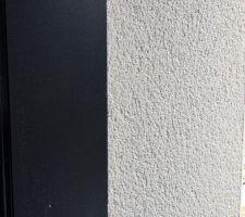 Jonction enduit / ouvrant