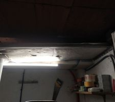 Isolation plafond garage