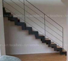 Choix de notre escalier