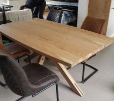 Table et chaises H&H arrivés