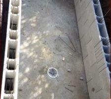 1ère tranche des murs périphérique en parrepins à bancher.