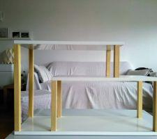 Fabrication d'un bout de canapé maison