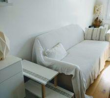 Bout de canapé diy