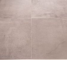 Carrelage WC haut gaeta ciment anthracite