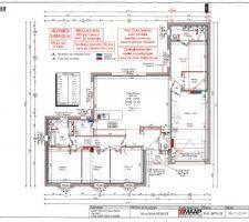 Plan final de la maison