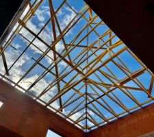 Fermettes toit étage