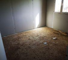 Une troisième chambre, qui servira de bureau.