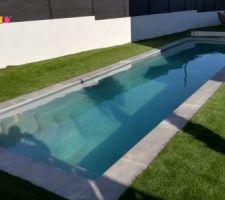 Couloir de nage. 10,00x2,40
