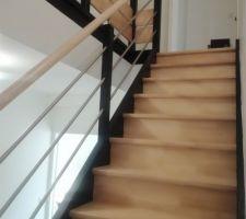Vitrification des escaliers