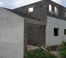 Photo de la facade sud et ouest