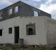 Photo de la facade sud et est