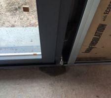 Humidité au niveau des baies vitrés