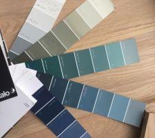 Choix des couleurs Salon