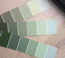 Choix des couleurs portes
