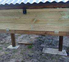 Poulailler: accès aux pondoirs