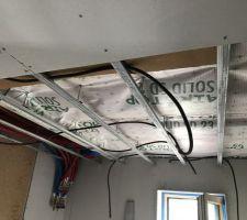 Plafond de la sdb en cours